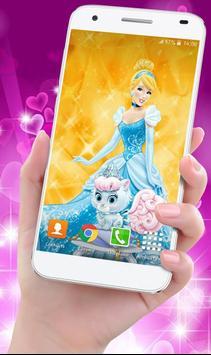 Cinderella Princess Wallpaper HD poster