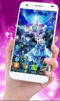 Cinderella Princess Wallpaper HD screenshot 1