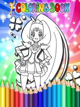 How To Color Pretty Cure screenshot 1