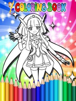 How To Color Pretty Cure screenshot 2