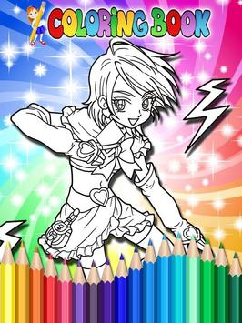How To Color Pretty Cure screenshot 4
