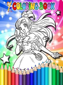 How To Color Pretty Cure screenshot 5