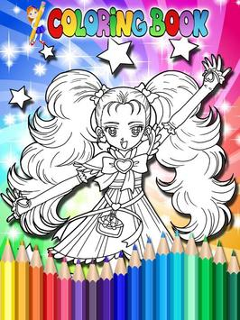 How To Color Pretty Cure screenshot 6