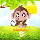 Funky Monkey Course de singe banana icon