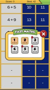 Fast Maths poster