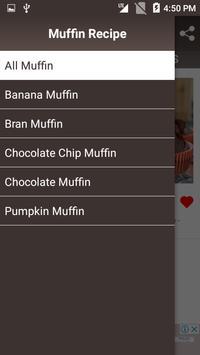 Muffin Recipe screenshot 1