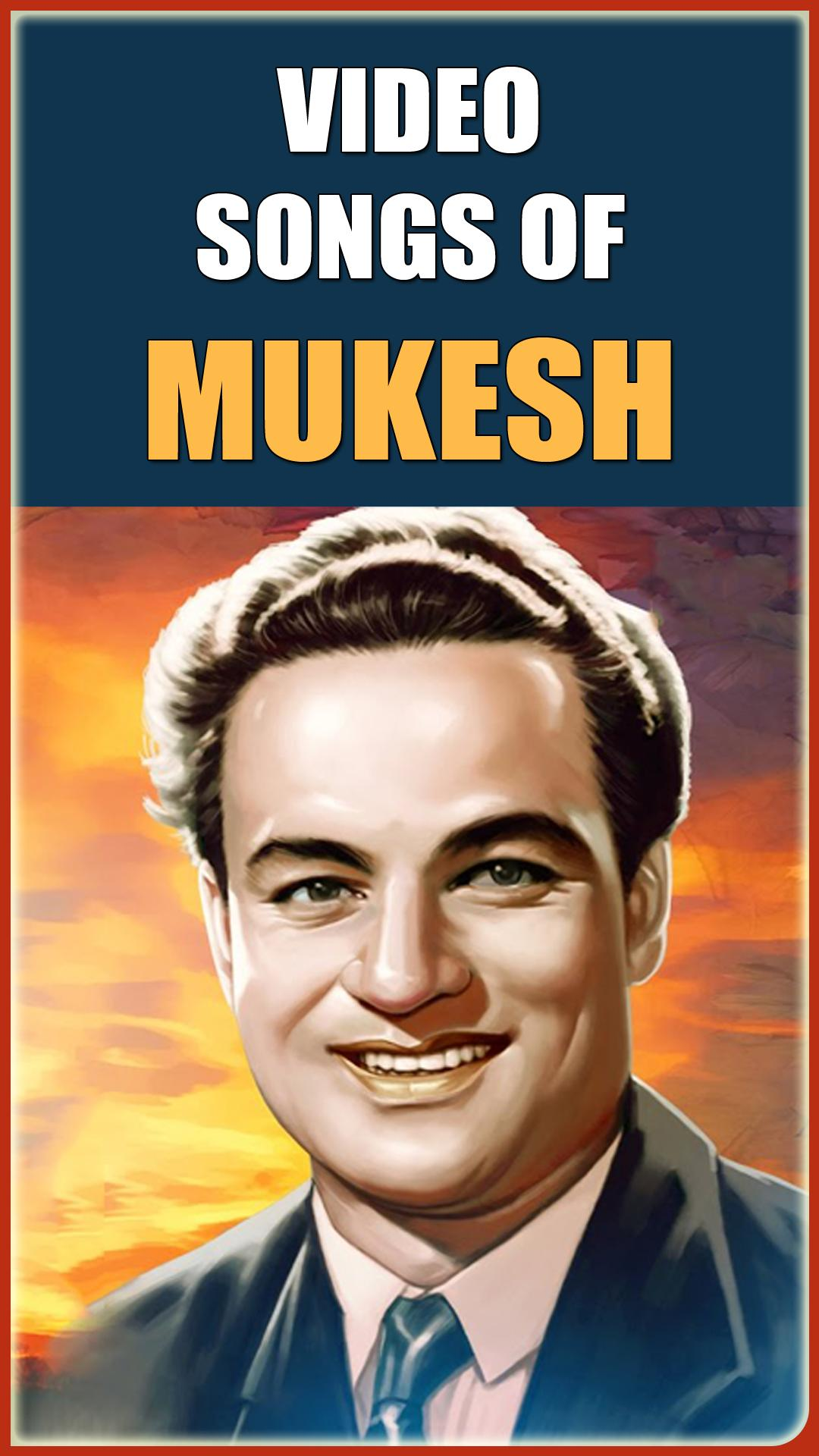 Mukesh Songs for Android - APK Download