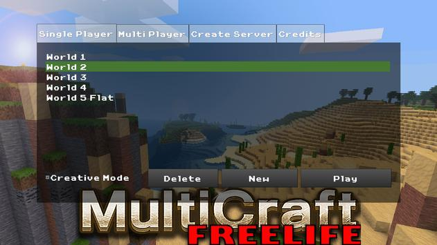 MultiCraft – Free Life poster