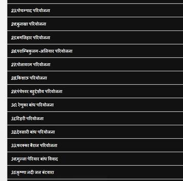 भारत में सिंचाई एवं बहुद्देशीय परियोजनाएं हिन्दी apk screenshot
