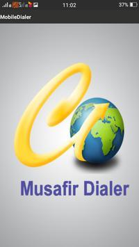 Musafir Dialer poster