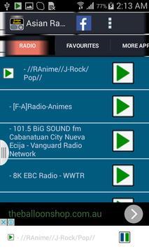 Asian Radio screenshot 4
