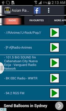 Asian Radio screenshot 6