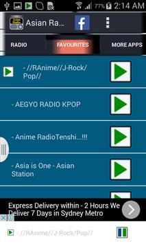 Asian Radio screenshot 2