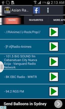 Asian Radio screenshot 3
