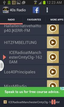 40s Radio screenshot 1