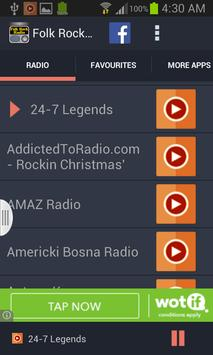 Folk Rock Radio screenshot 1