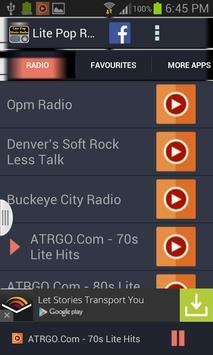 Lite Pop Music Radio screenshot 1
