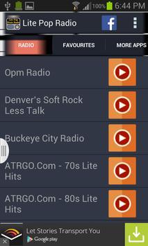 Lite Pop Music Radio screenshot 6