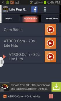 Lite Pop Music Radio screenshot 8