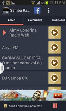 Samba Music Radio screenshot 1