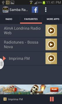 Samba Music Radio screenshot 2