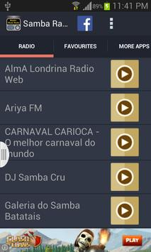 Samba Music Radio screenshot 3