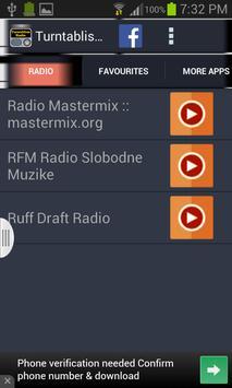 Turntablism Radio screenshot 2