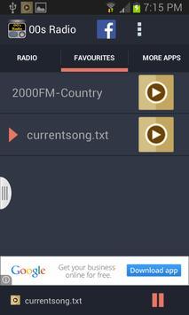 00s Radio screenshot 3