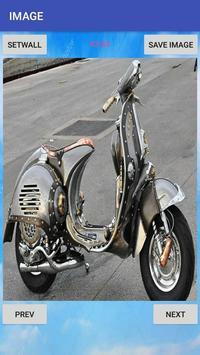 Vespa Modification Cool Design Ideas Creative screenshot 9