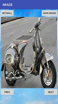 Vespa Modification Cool Design Ideas screenshot 9