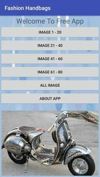 Vespa Modification Cool Design Ideas Creative poster