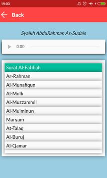 Quran Recitation With Playlist apk screenshot