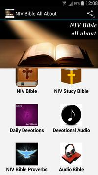 NIV Bible All About poster