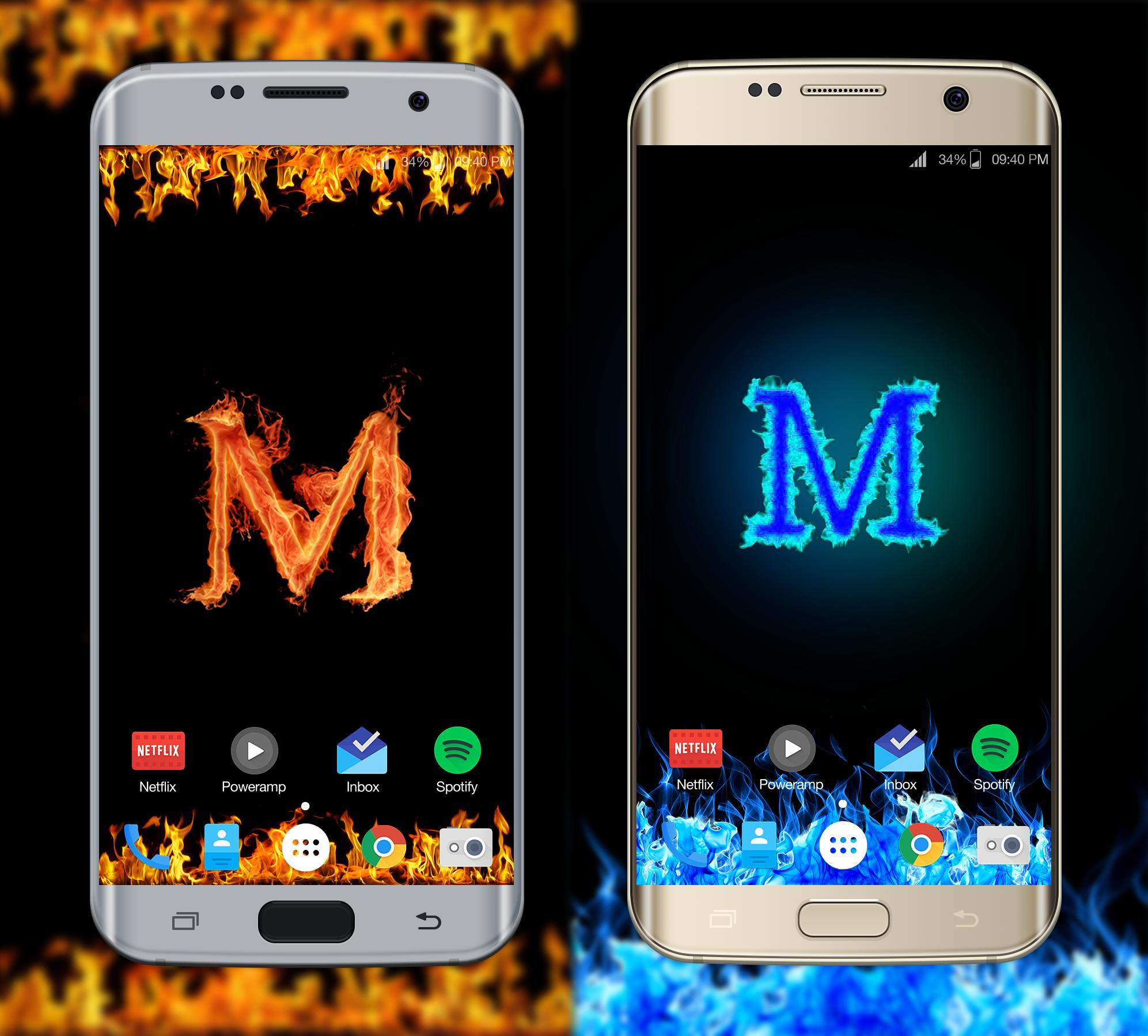 M Name Wallpaper For Android Apk Download
