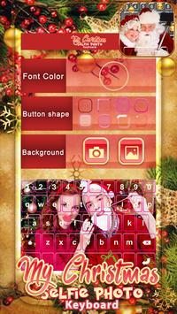 My Christmas Selfie Photo Keyboard screenshot 3