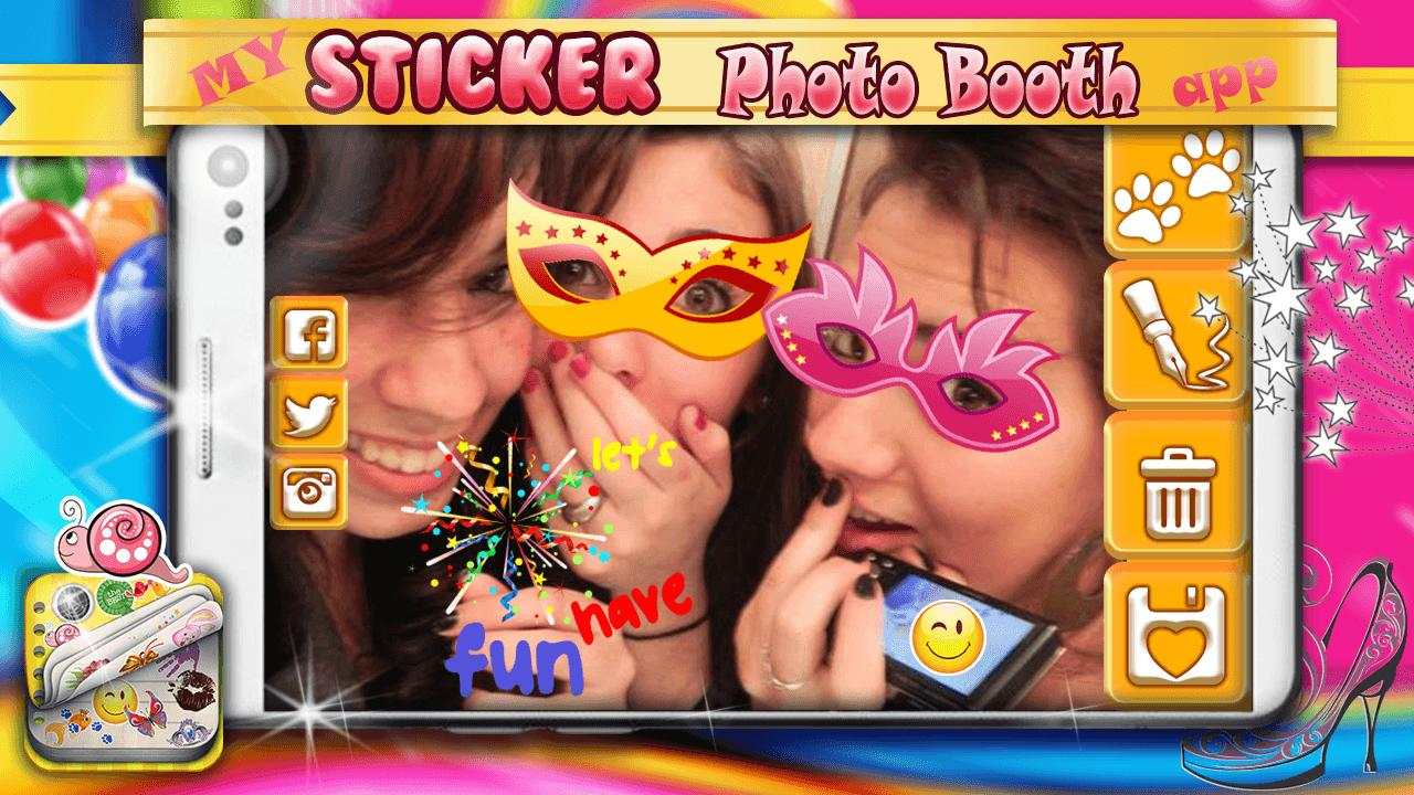 My Sticker Photo Booth App for Android - APK Download