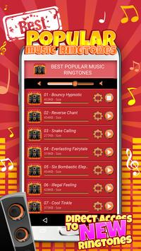 Best Popular Music Ringtones apk screenshot