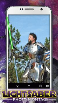 Lightsaber Photo Montage apk screenshot