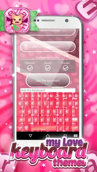 My Love Keyboard Themes poster