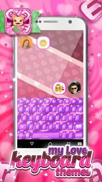 My Love Keyboard Themes screenshot 1