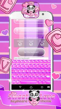 My Sweet Love Keyboard Themes apk screenshot