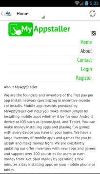 App Install Rewards apk screenshot