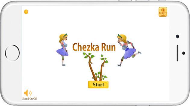 Chezka Run poster