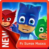 Pj Super Masks Games icon