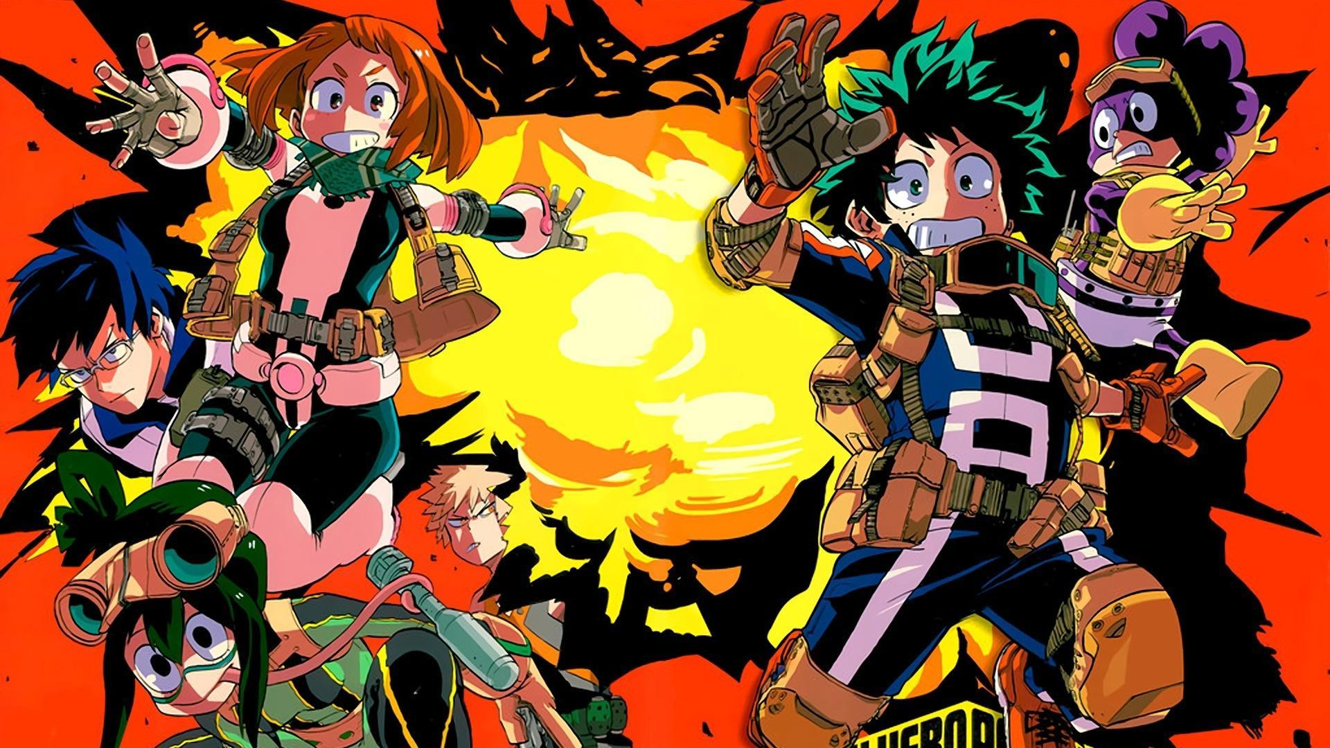 My Hero Academia Wallpapers Hd 2018 For Android Apk Download