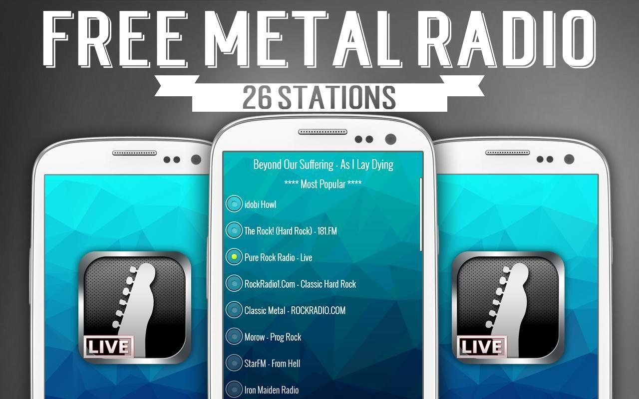 Rock radio metal radio for android apk download.
