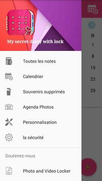 Cute Personal Diary with Fingerprint Lock screenshot 1