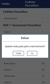 Fadhilat Ramadhan (Indonesian) apk screenshot