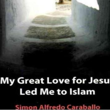 My great love for Jesus poster