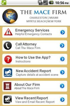 The Mace Firm Accident App screenshot 1